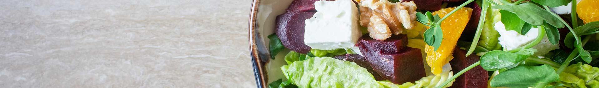 Gesunde Ernährung und Lebensführung: Salat